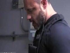 Cop cock gay hot sexy men police Purse