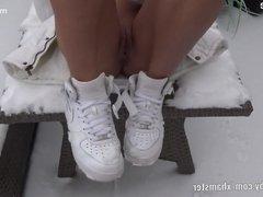 My Dirty Hobby - BlackSophie Anal Snow Creampie