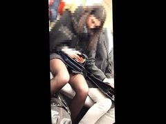 leg in pantyhose 2