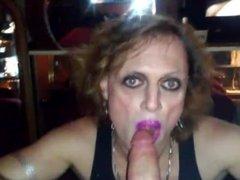 Missy sucking cock