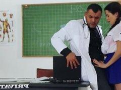 Private com - Trainee Nurse Cassie Fire Rides Her Teacher