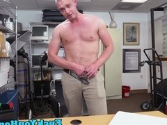 Straight muscle amateur interracially fucked