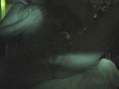Late night sex in the lanai