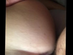 Fucking wife doggystyle with pussy queefing