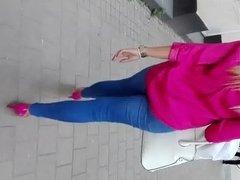 Street walk pink