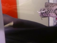 Hot teen dressing room with tights