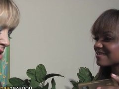 Adrianna Nicole & Sinnamon Love Interracial Lesbian