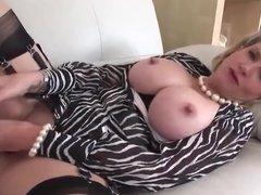 British MILF Shows Off Her New Toy