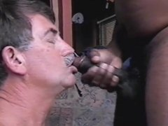 COCKSUCKER4BLACK taking my FIRST BLACK COCK AND CUM...