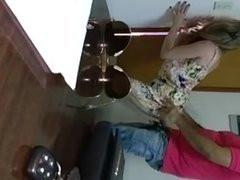 Hidden cam caught wife fucking a Bull while hubby isnt home