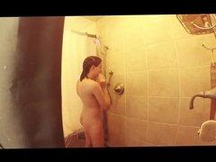 Goth Girl Hidden Shower Clip
