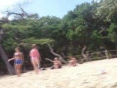 en la playa (beach)