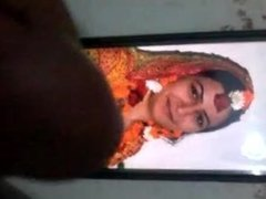 Sana bride cum tributes hot