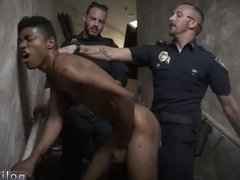 Muscle daddy cops gay porn Suspect on the