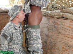 Real military hunk cocksucking and assfucking