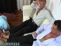 Feet sucking gay movie Ricky Worships