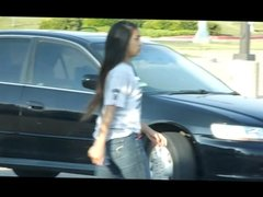 TEEN ASIAN CANDID JEANS