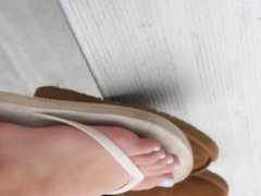 Candid Teen Feet