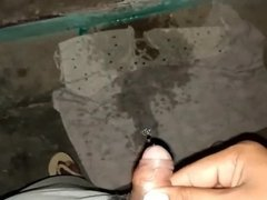 Pissing in neighbour home