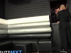 Mickey Taylor and Lee Will doggystyle sex time after work