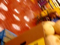 5-26-17 Hot Blonde in Grocery Store 2