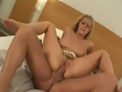 Insatiable Anal Blonde