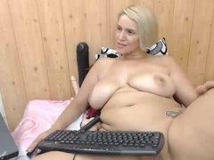 Big Ass on Webcam