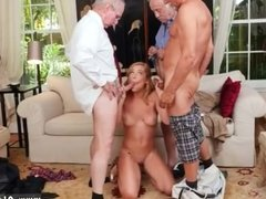 Old guy licks ass shaved pussy However,