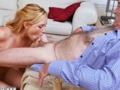 Three college blowjob and amateur blonde