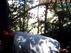 Bear fucks ass in woods