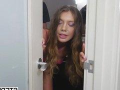 Stepsis Elena Koshka seducing her stepbro