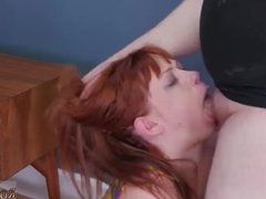 Public train cum massage handjob blowjob