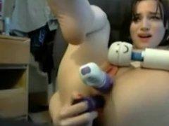 Cute Asian Masturbation Solo Dildo Webcam - NAKED CAM GIRL LIVE