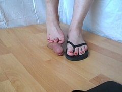 flip flop Trampling Feet job