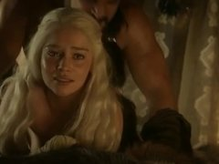 Emilia Clarke Nude Sex Scene In Game of Thrones  ScandalPlanetCom