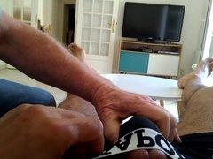 Branle sur canape