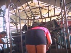 Spandex BIG Booty Girls
