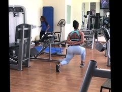Big Ass Brazilian Muscle Booty Workout!