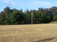 running naked on soccerfield