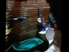 Neighbor Patio Bathing Voyeur Video