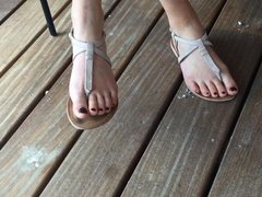 Friend's Candid Feet (Elise) Part 1