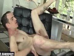 Hot shemale hard fuck with cumshot