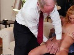 Tits creampie and nice slow handjob