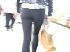 Shapely ass in black pants