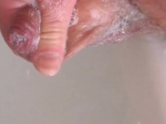 Washing cock in sink
