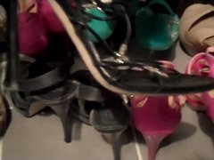 Rosy's shoe modeling