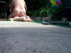 HIDDEN CAM IN THE GARDEN