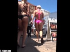 Big Ass Thong bikini Amateur Babes Voyeur HD Video