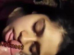Desi indian girl sucking very cute - teen99