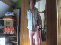 transvestite tranny sissy crossdresseer dildo lingerie 8